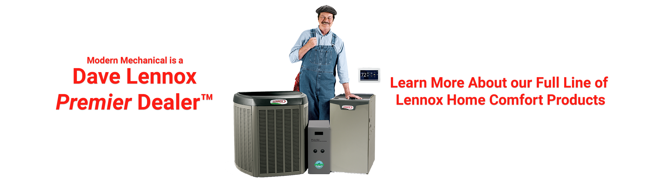Learn More About Modern Mechanical's Selection of Lennox Products!