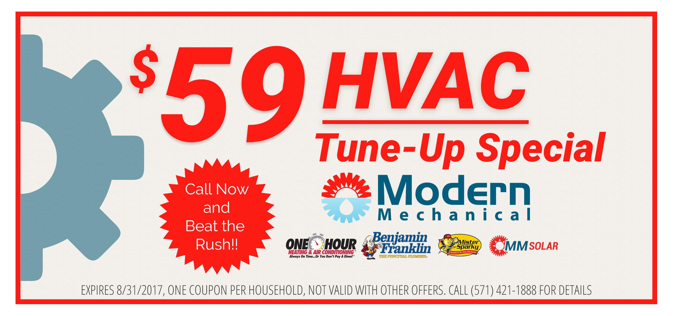 $59 hvac tune up special