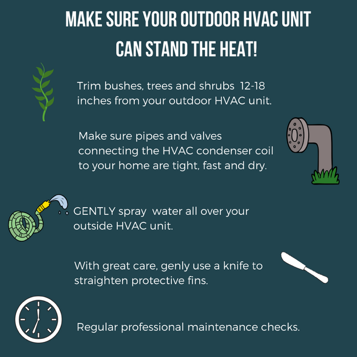 Make Sure Your Outdoor HVAC Unit Can Stand The Heat