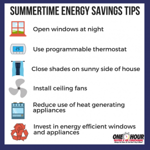 Summertime Energy Savings Tips