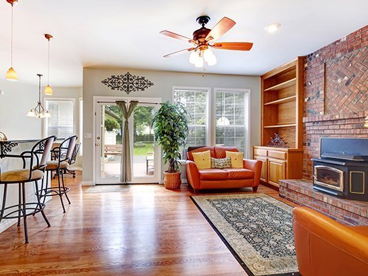 How Your Ceiling Fans Can Keep You Comfy and Energy Efficient All Year Long